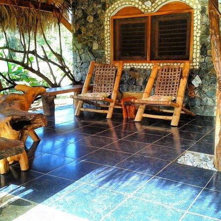 Chalet Tropical Village: Porch