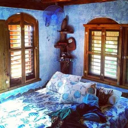 Chalet Tropical Village: Blue Room