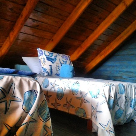 Chalet Tropical Village : Loft Sapce in Blue Room