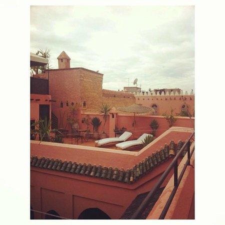 Riad Abbassia: Terrace