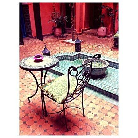 Riad Abbassia: Courtyard