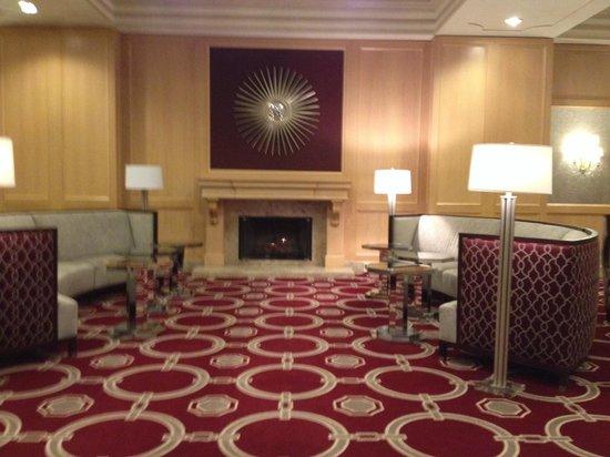 Westfields Marriott Washington Dulles: Sitting lounge area at westfields Marriott