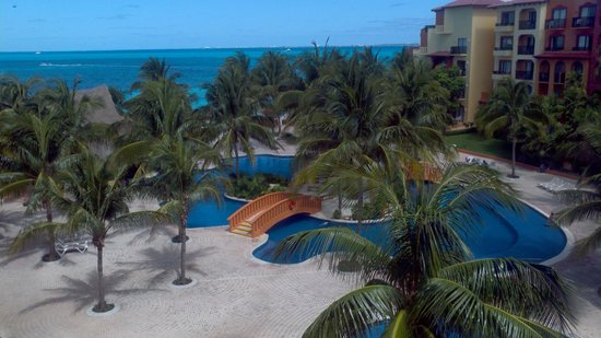 Fiesta Americana Villas Cancun: View from our 2nd night room