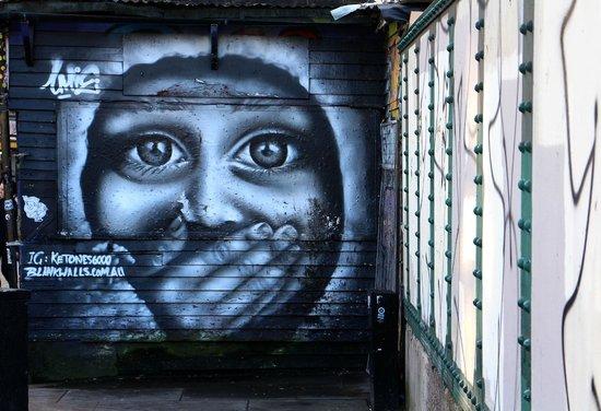Alternative London: Street art Spitalfields. Alt. London Tour 150214