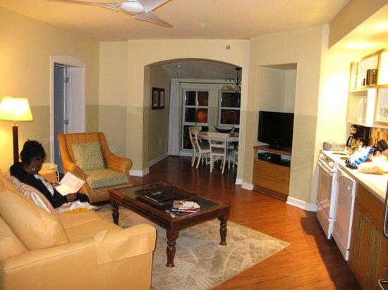 Embarc Sandestin : Living Room