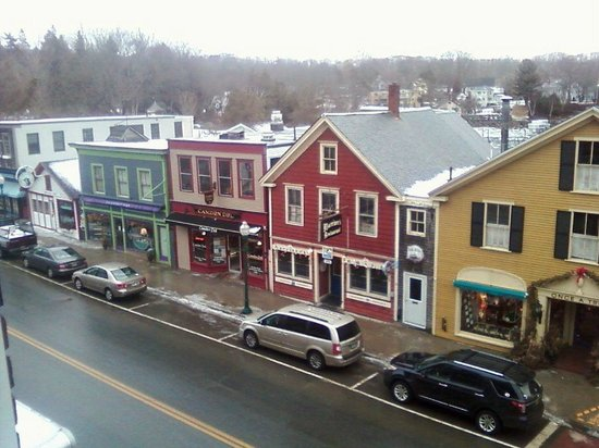 Lord Camden Inn: Downtown (from balcony)