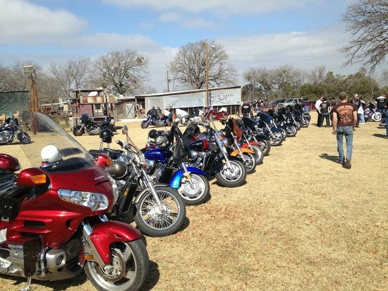 Loco Coyote Grill: Motorcycle Club Gathering Spot