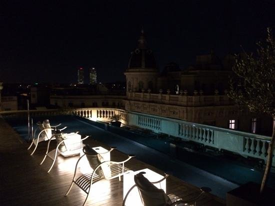 Hotel Ohla Barcelona: tetto paronamico