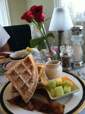 Kilmarnock Inn: Monday's breakfast