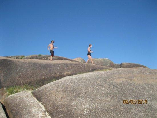 Praia Mole : Pedras da Mole.
