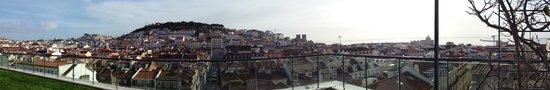 Hotel do Chiado: vista terrazza