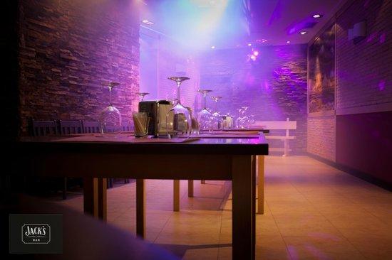 Jack's Bar: Salon de fiesta