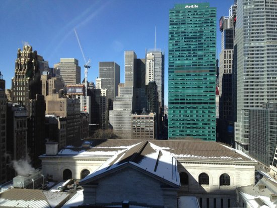 Andaz 5th Avenue: View from other side of suite