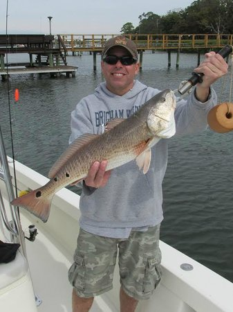 Gone Fishing Charters: Redfish with Captain Ames