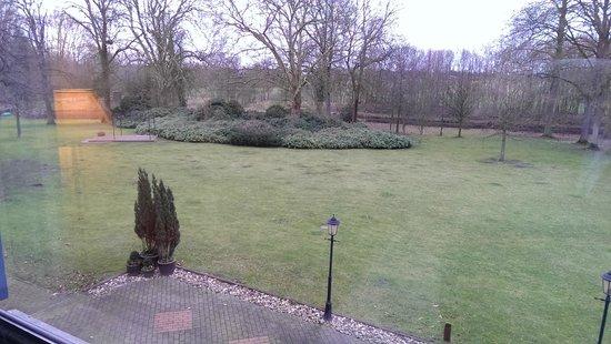 Parkhotel Schloss Hohenfeld: Helaas geen sneeuw in februari