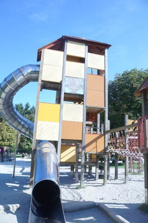 Wildpark Poing: kids play equipment