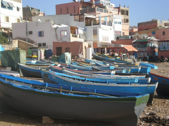 Riad Rev Aventures : Retour de pêche à Taghazout