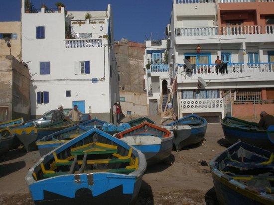 Riad Rev Aventures : Le port de Taghazout