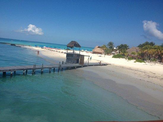 Playa Norte : Vista para praia