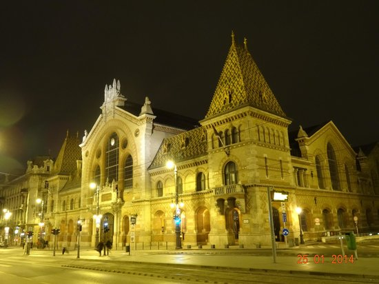 Central Market Hall: На Эйфелеву башню совсем не похоже