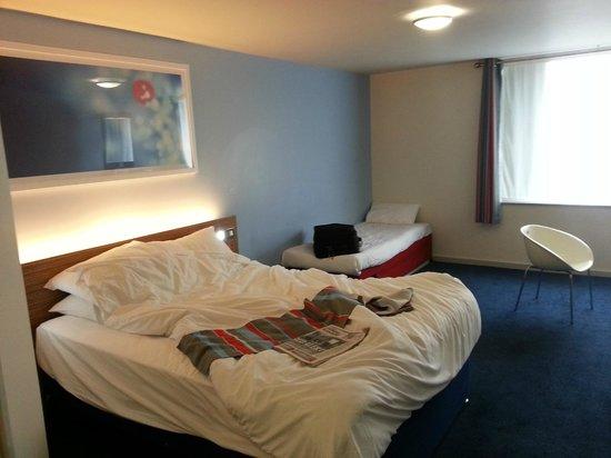Travelodge London Waterloo Hotel : First floor room 110