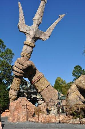 Universal's Islands of Adventure : Poseidon's trident