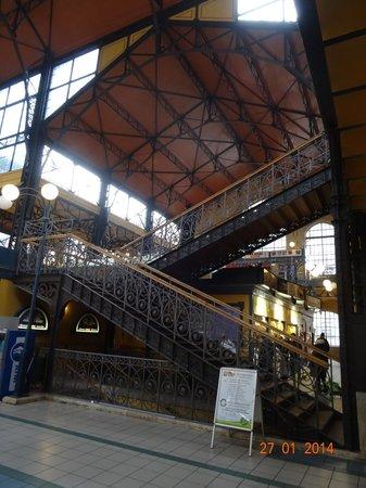 Central Market Hall: Венгерское творение Густава Эйфеля
