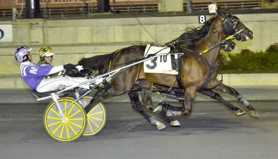Harrington Raceway & Casino : 2013 Bobby Quillen Memorial, track record equaling performance by Clear Vision