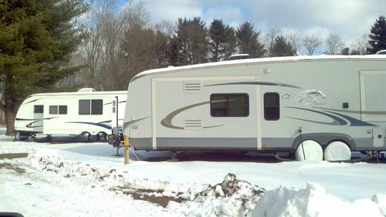 Cuddebackville, Estado de Nueva York: Winter Camping