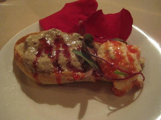 Restaurant La Raclette: Petite entrée surprise absolument délicieuse