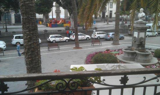 Hotel Madrid: From the balcony (2)