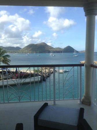 The Landings St. Lucia : View from Deck