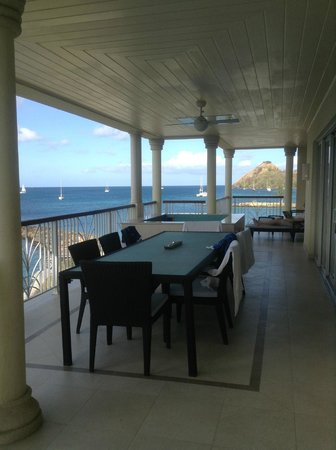 The Landings St. Lucia : Giant Deck