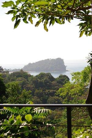 Manuel Antonio Nat'l Park -view from Villa Perezoso