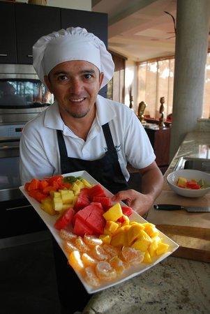 Villa Perezoso : Over easy...Chef Fabuloso!