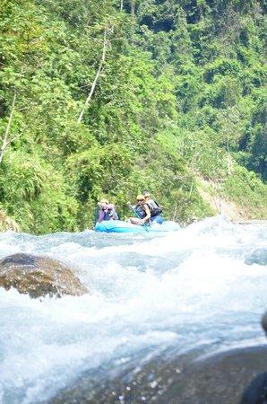 Villa Perezoso: White water rafting