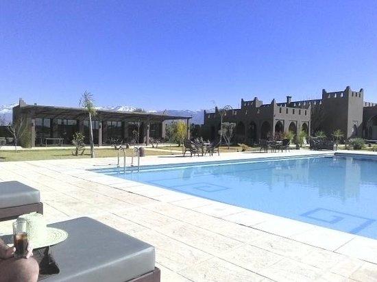 Kasbah Igoudar : Pool area