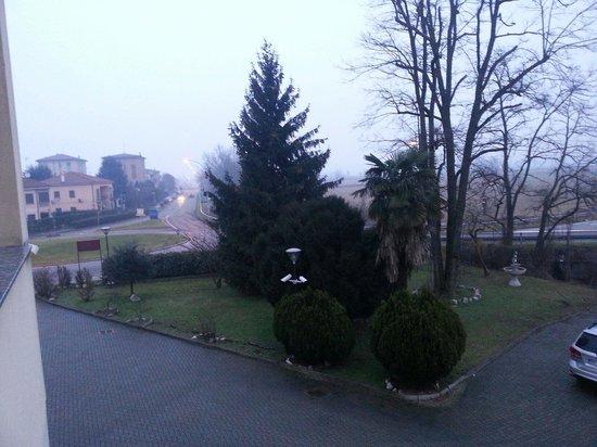 Hotel Europa: Vista di una mattina d'inverno.
