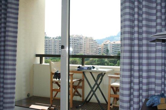 Columbus Monte-Carlo: Le balcon de la chambre du Colombus Monte Carlo