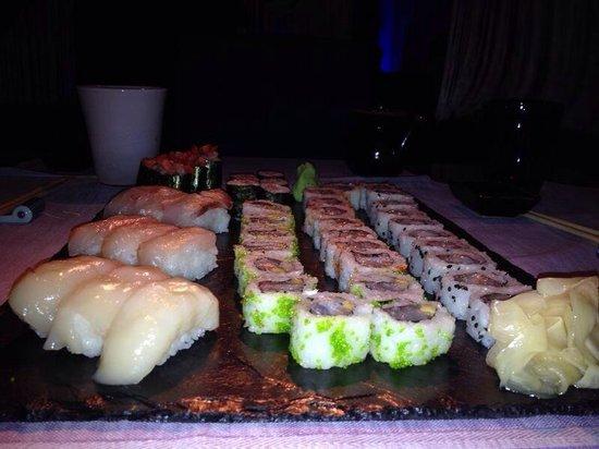 Yu Restaurant: Mix Sushi crudo