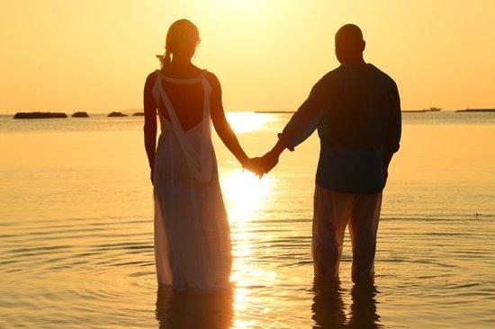Sheraton Maldives Full Moon Resort & Spa: Wedding