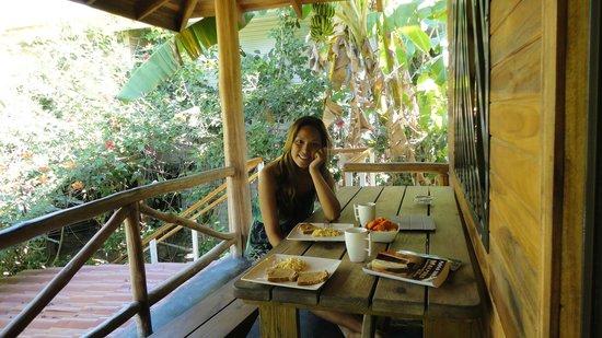 Hotel Raratonga: Favorite moment of the day : breakfast!