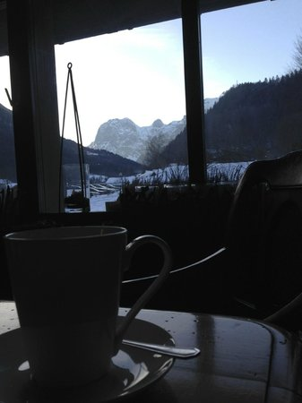 Best Western Plus Berghotel Rehlegg: Beim Nachmittagskaffee