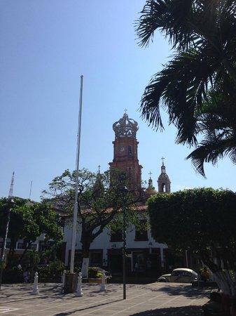 La Iglesia de Nuestra Senora de Guadalupe: Church exterior