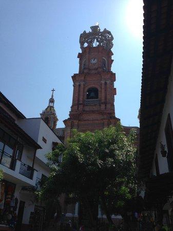 La Iglesia de Nuestra Senora de Guadalupe: Church dome