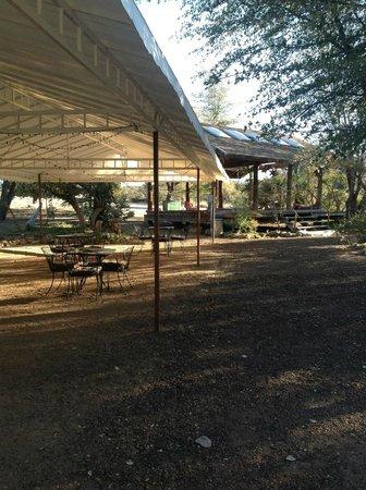 "Juniper Well Ranch: ""Celebration Area."""