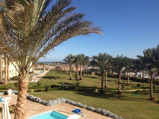 Rixos Sharm El Sheikh: Balcony view from junior suite