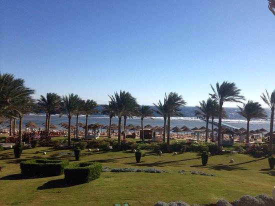 Rixos Sharm El Sheikh: Sea view from junior suite