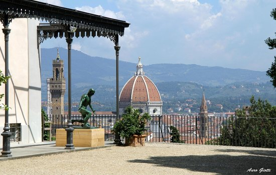 View from the Villa Bardini/Giardino Bardini - Picture of Giardino ...