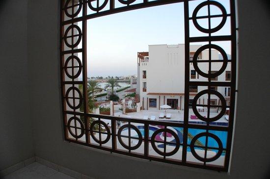 Sifawy Boutique Hotel: Frame around balcony
